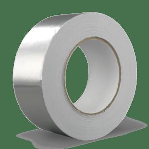 Aluminiumtape 50mm breed, rol à 5m1
