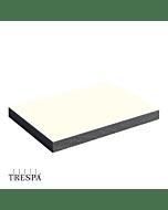TRESPA® A0300 Wit dubbelzijdig Satin 2550x1860x06mm Satin