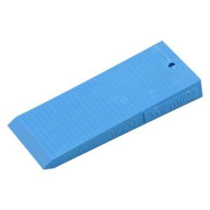 Wig 75x30x10mm blauw 68 stuks